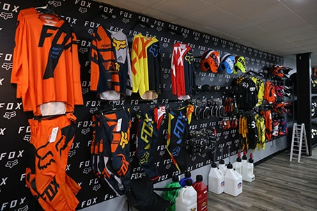 Fox gear | Stiller Motorsports | Kittanning, PA